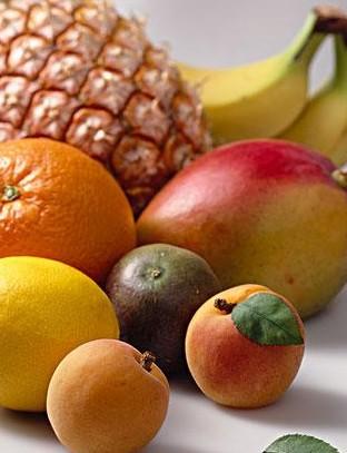 秋季水果水彩画-入秋养生 慎食秋瓜防坏肚