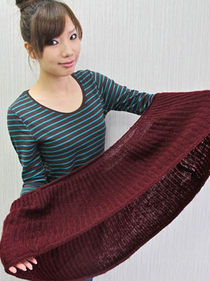 服装搭配的技巧之女人围巾