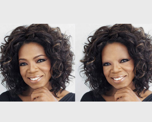明星 眉毛/眉毛有多重要,看过这些被故意PS掉眉毛的明星们的前后对比照片...